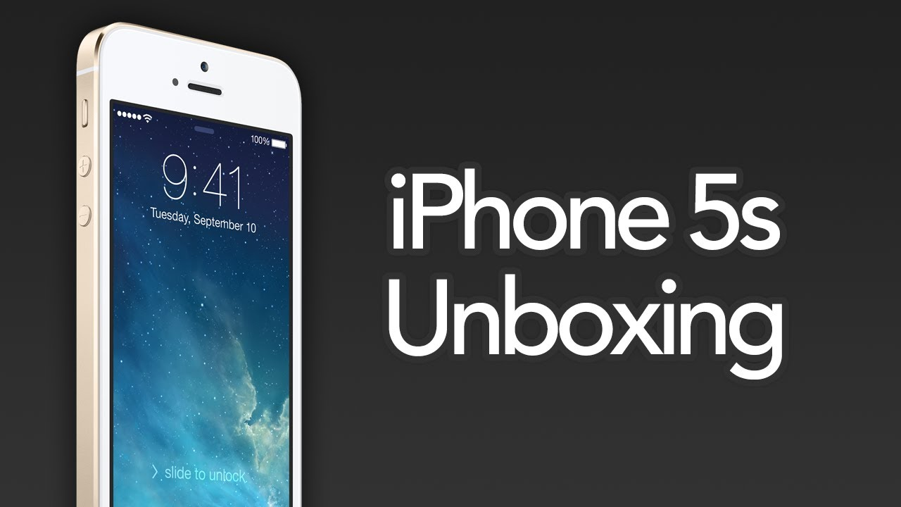 iPhone 5s Unboxing - Silver 64GB Verizon - YouTube