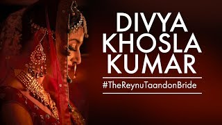 Bridal Photoshoot  Divya Khosla Kumar   Reynu Taandon