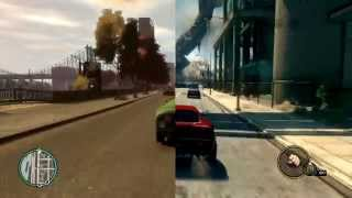 GTA IV vs Saints Row The Third on PC