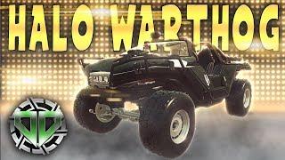 Halo Warthog Restoration : Car Mechanic Simulator 2018 Gameplay : PC Lets Play
