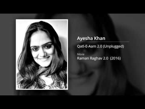 Qatl-E-Aam | Sona Mohapatra | Ayesha Khan (Cover)
