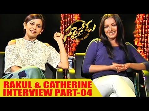 Rakul Preet Singh and Catherine Tresa Interview about || Sarrainodu Success Part-04 || Movie Time
