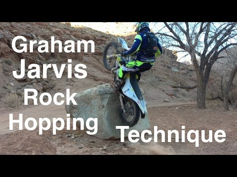 How to Cross a Rock/Log like Graham Jarvis!!! He shows us how!!