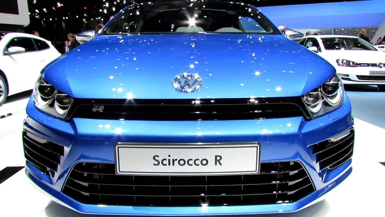 2014 Volkswagen Scirocco R Exterior And Interior