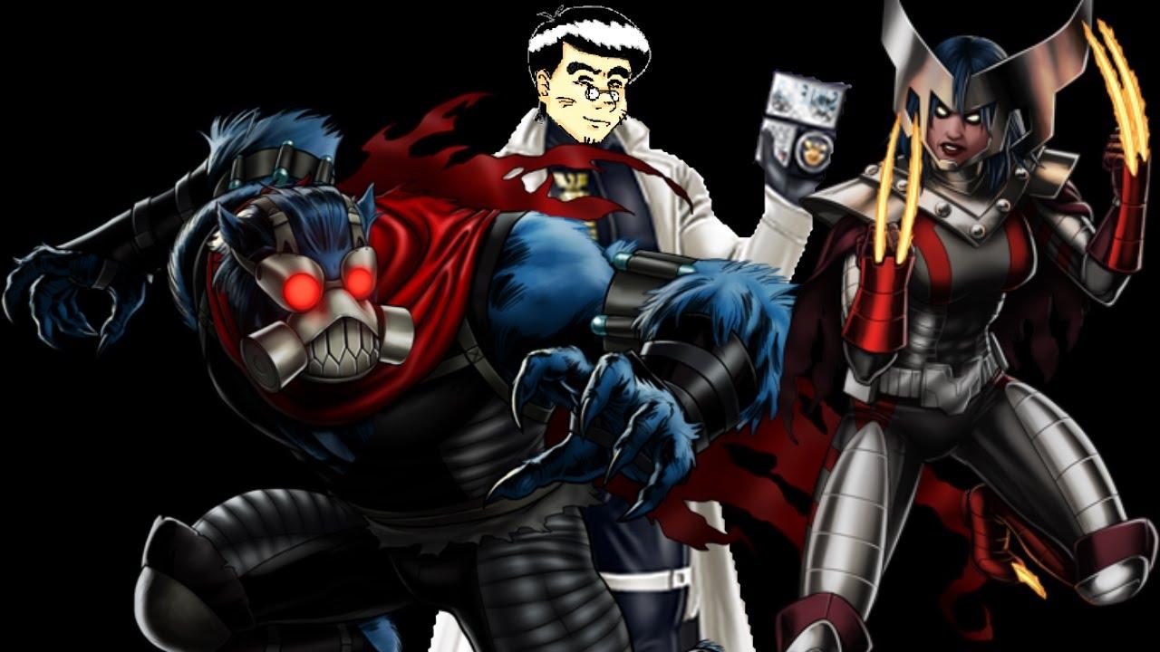PRE PVP/JCJ 24 usando a Bestia y X-23 (Set Apocalypsis ... X 23 Marvel Avengers Alliance