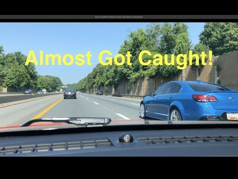 Almost Got Caught Racing! Chevy SS Holden Commodore Cars and Coffee