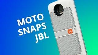 Moto Z Snaps - JBL SoundBoost [Análise]