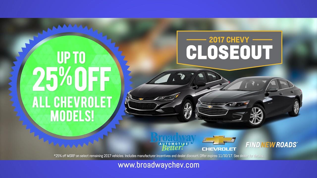 Perfect Veterans Sale @ Broadway Chevrolet, Green Bay, WI November 2017