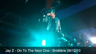 jay z on to the next one live in brisbane 09 12 10 hd