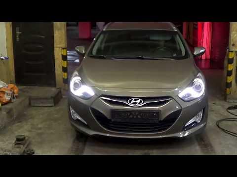 Увеличения клиренса на автомобиль Hyundai i 40