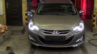Увеличения клиренса на автомобиль Hyundai i 40 смотреть