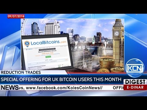 KCN Digest: LocalBitcoins reduce trading fee in half