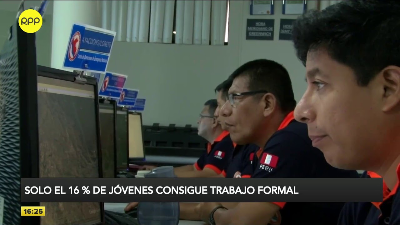Economía para todos: Solo el 16% de los jóvenes peruanos consigue trabajo formal