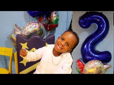 JORDAN'S 2ND BIRTHDAY CELEBRATION