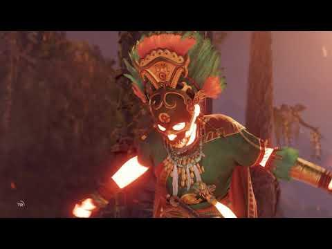 Shadow of the Tomb Raider - City of the Serpent: Amaru Dominguez Bossfight & Death Cutscene (2018)