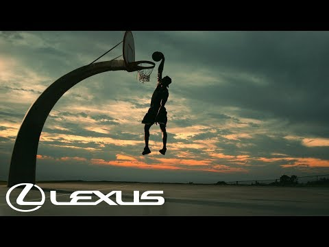 """Lexus """"The Art of the Dunk"""" Your Videos"""