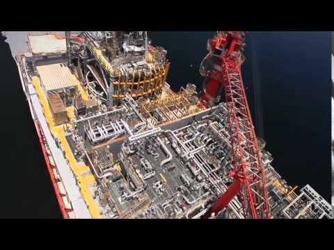 FPSO Petrojarl Knarr Sailaway - Teekay's Largest Project