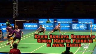 Kevin Sanjaya Marcus Fernaldi vs Chris Langridge Michael Ellis Nice Angle 50fps