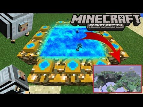 ADA PORTAL SURGA !! PORTAL SURGA DI MCPE !! [SHOWCASE] Minecraft PE