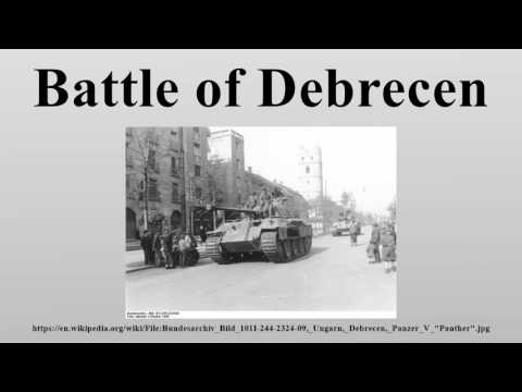 Battle of Debrecen