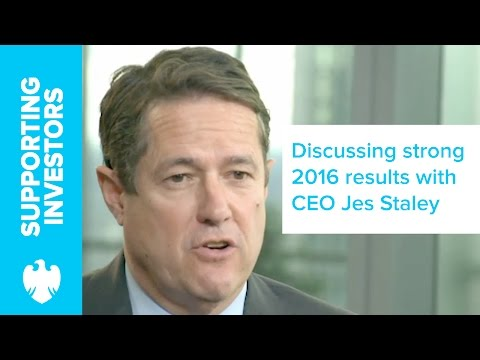 CEO Jes Staley talks 2016 full year results | Barclays