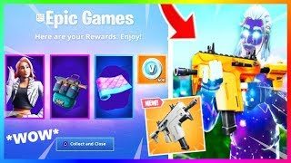 NEW WEAPON and STARTER PACK in GAME | Fortnite