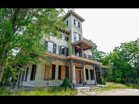 Exploring a Vacant Italianate Mansion Pennsylvania