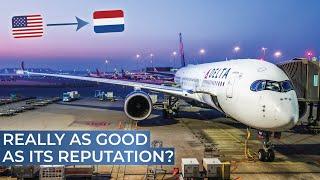 TRIPREPORT | Delta (ECONOMY) | Airbus A350-900XWB | Detroit - Amsterdam