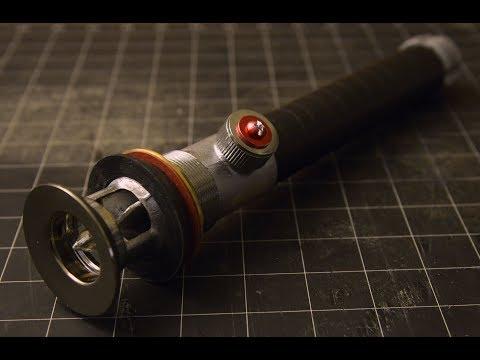 Lightsaber Hilt Build from Plumbing Supplies - DIY