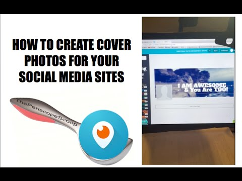 HOW TO CREATE COVER PHOTOS FOR FACEBOOK, GOOGLE +, AND OTHER SOCIAL MEDIA SITES.