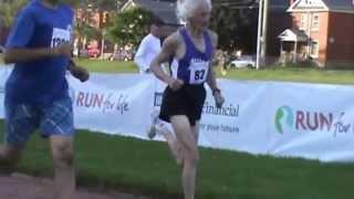 Ed Whitlock (World Record Holder) - Mile Run