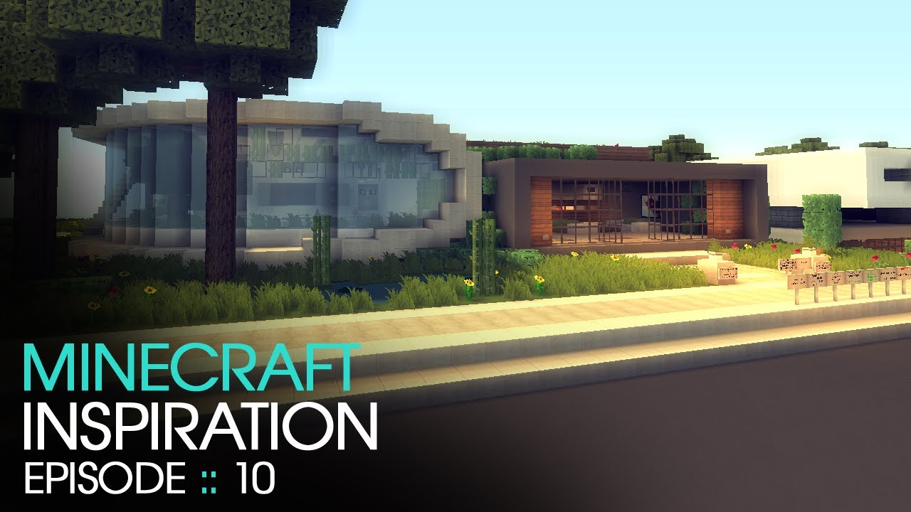 Minecraft  Modern House 1  Inspiration w Keralis  YouTube