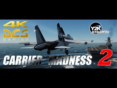 Su-27 Carrier Landing | Madness 2 | DCS World 4K