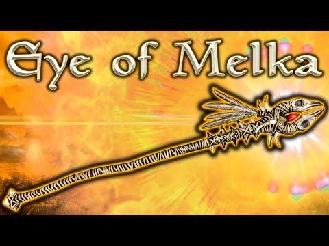 Skyrim SE - Eye Of Melka - Unique Weapon Guide
