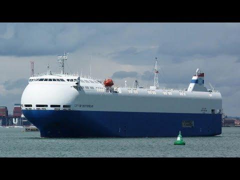 City of Rotterdam - EMC Nissan Car Carrier Southampton 1/8/17