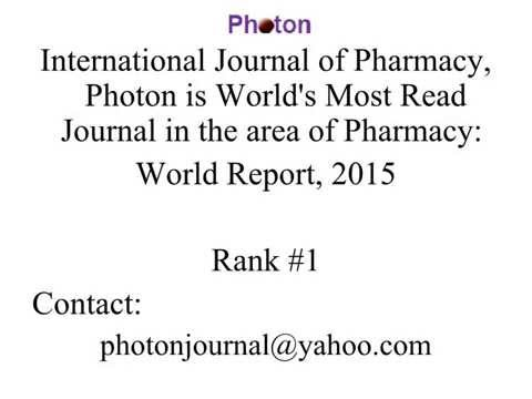 Russian Journal of Pharmacy