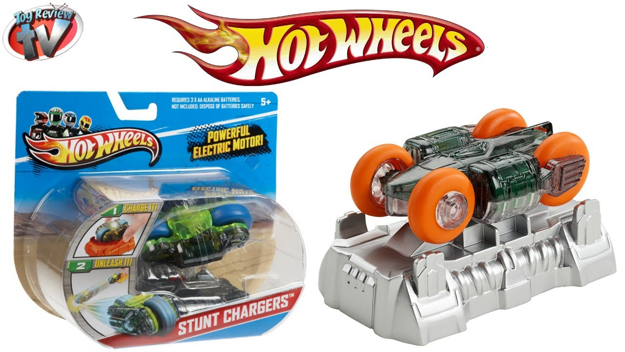 Hot Wheels Stunt Chargers Toy Car Review Mattel