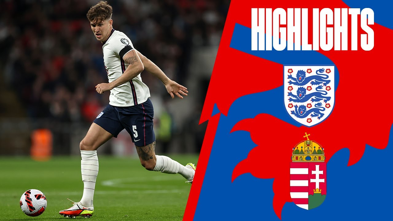 Download England 1-1 Hungary   Stones Rescues Point   World Cup 2022 Qualifiers   Highlights
