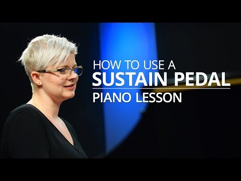 How To Use A Sustain Pedal - Piano Lesson (Pianote)