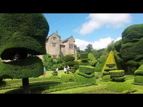 Allotment Diary : Levens Hall World Famous Topiary Gardens