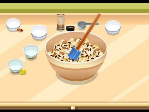 strudel aux pommes de tessa jeux de cuisine youtube. Black Bedroom Furniture Sets. Home Design Ideas