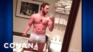 "Chris Pratt Got RIPPED To Be In ""Zero Dark Thirty"" - CONAN on TBS"