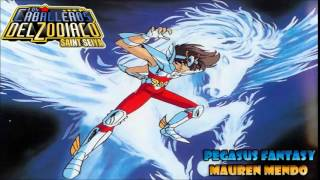 Pegasus Fantasy (Saint Seiya opening 1) version full latina by Mauren Mendo