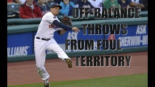 MLB | Off-Balance Throws From Foul Territory