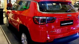 2018 Jeep Compass Limited 4x4 Exotica Red Color !!