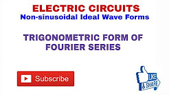 NON-SINUSOIDAL IDEAL WAVE FORMS (ELECTRIC CIRCUIT)