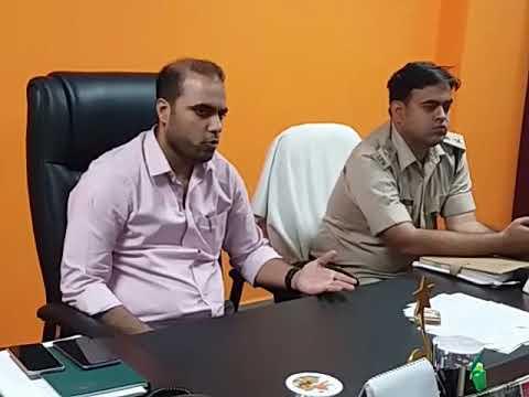 Chatra DC-SP talks with press