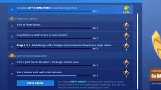 How to Use The new Fortnite Party Assist Feature for your challenges Fortnite battle royale
