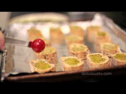 Italian Happy Hour- Vegan Crostini