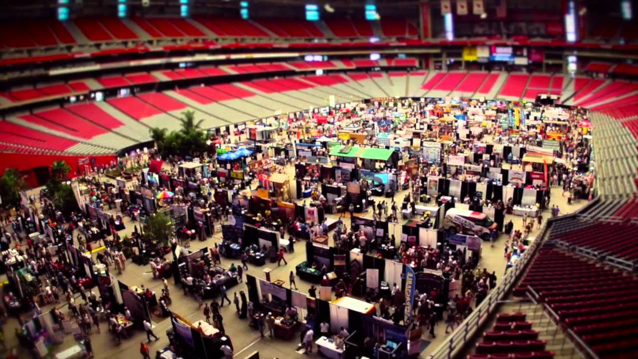 Maricopa County Home Garden Show At The University Of Phoenix Stadium Youtube